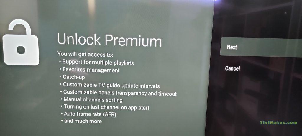 Tivimate IPTV Player Premium